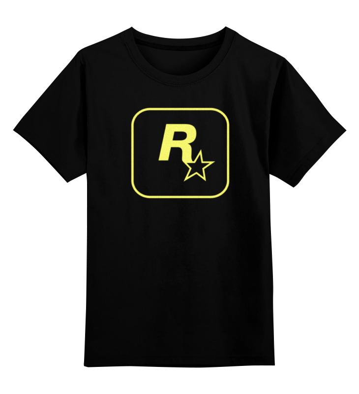 Детская футболка Printio Rockstar staff t-shirt цв.черный р.164 0000000740295 по цене 1 190