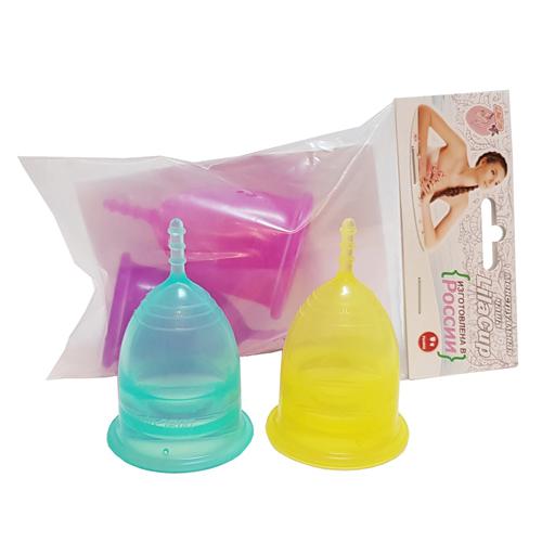 Набор менструальных чаш, размеры L и