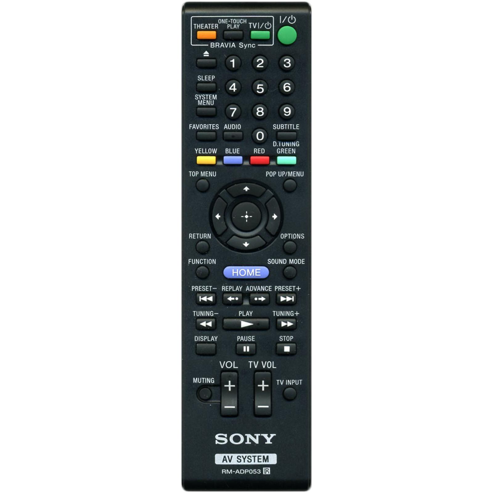 Пульт Sony RM-ADP053