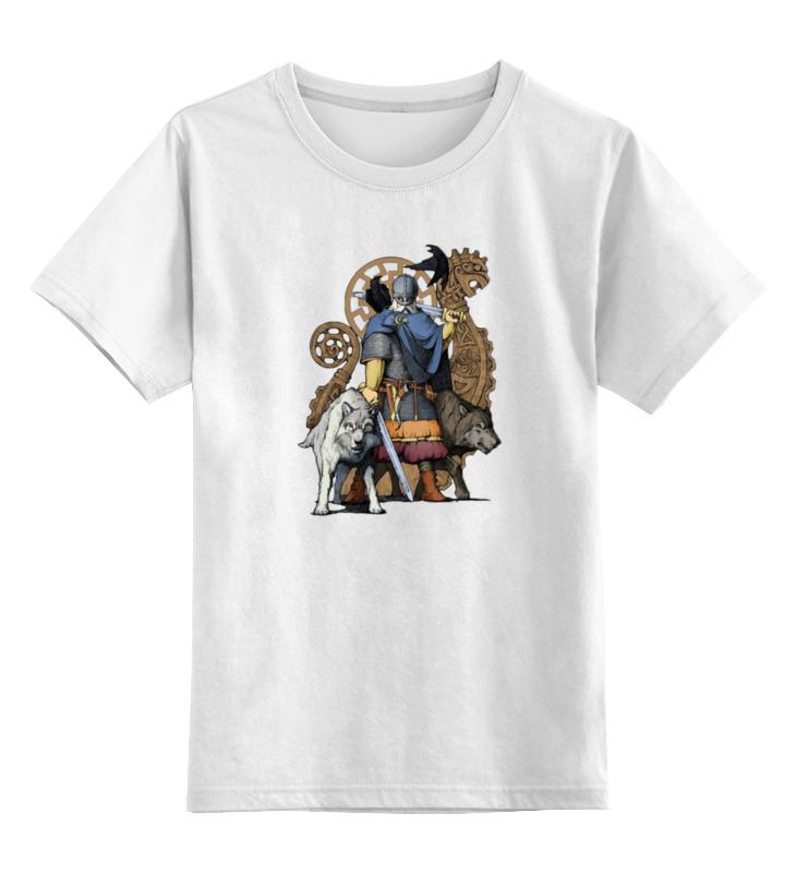 Детская футболка Printio Перун цв.белый р.164 0000000738286 по цене 790