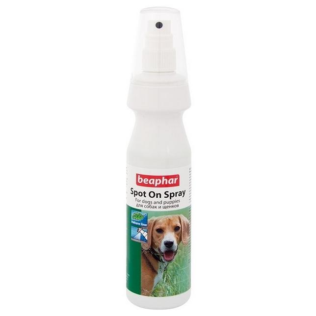 Спрей для собак против блох, вшей, клещей,