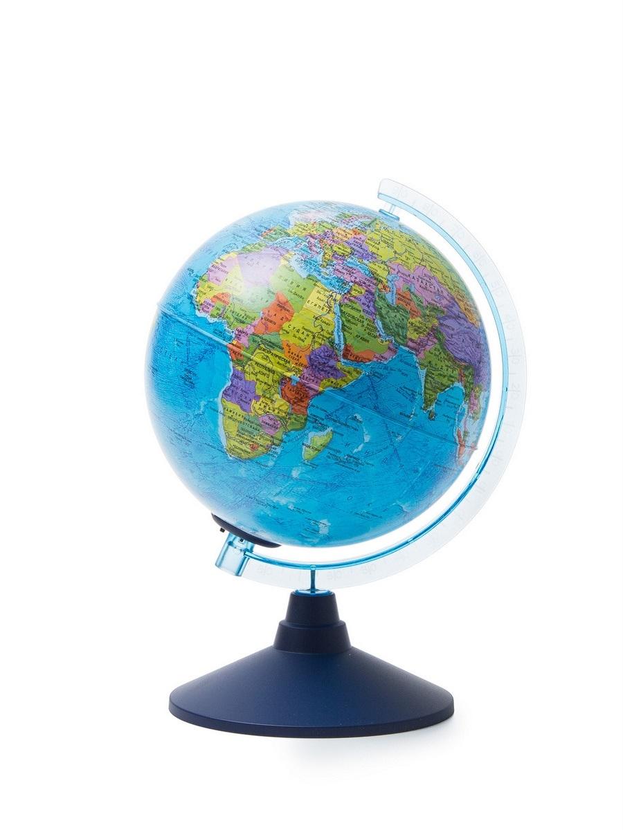 Globen Интерактивный глобус политический с подсветкой от батареек d210, INT12100295