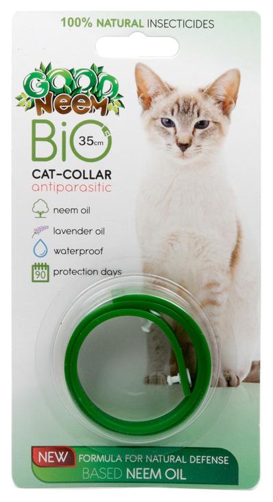 Ошейник для кошек против паразитов GOOD NEEM