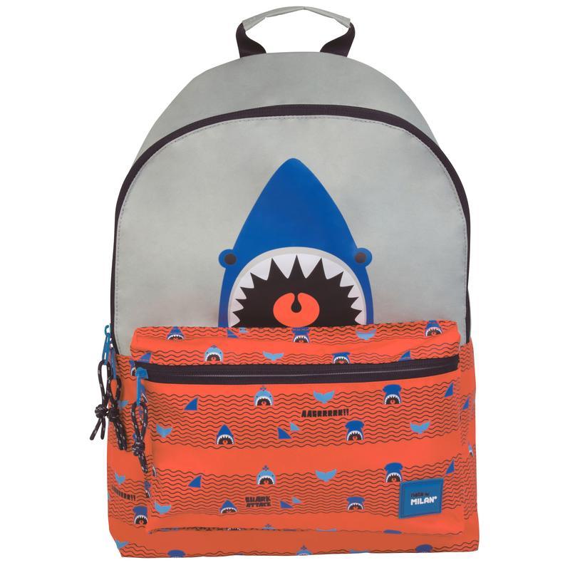 Рюкзак детский Milan Shark Attack, 41х30х18