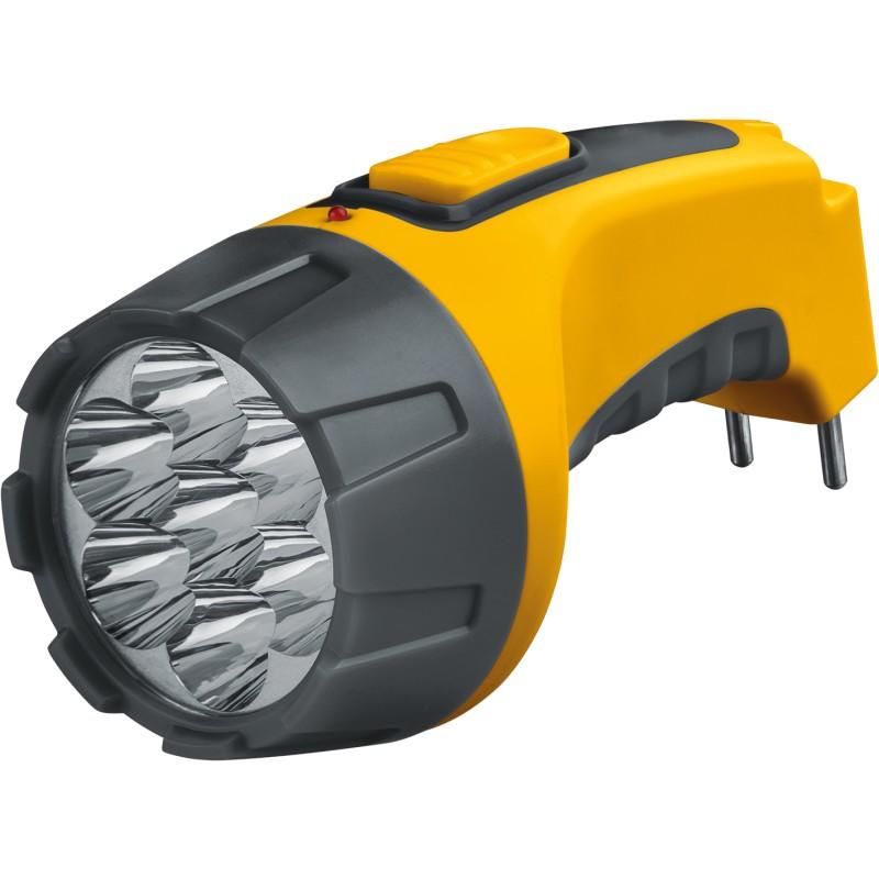 Фонарь ручной Navigator NPT-CP04-ACCU 7 LED, желтый, NPT-CP04-ACCU, 94952