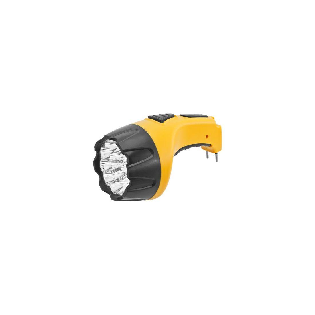 Фонарь ручной Navigator NPT-CP05-ACCU 22 LED, желтый, NPT-CP05-ACCU 94953