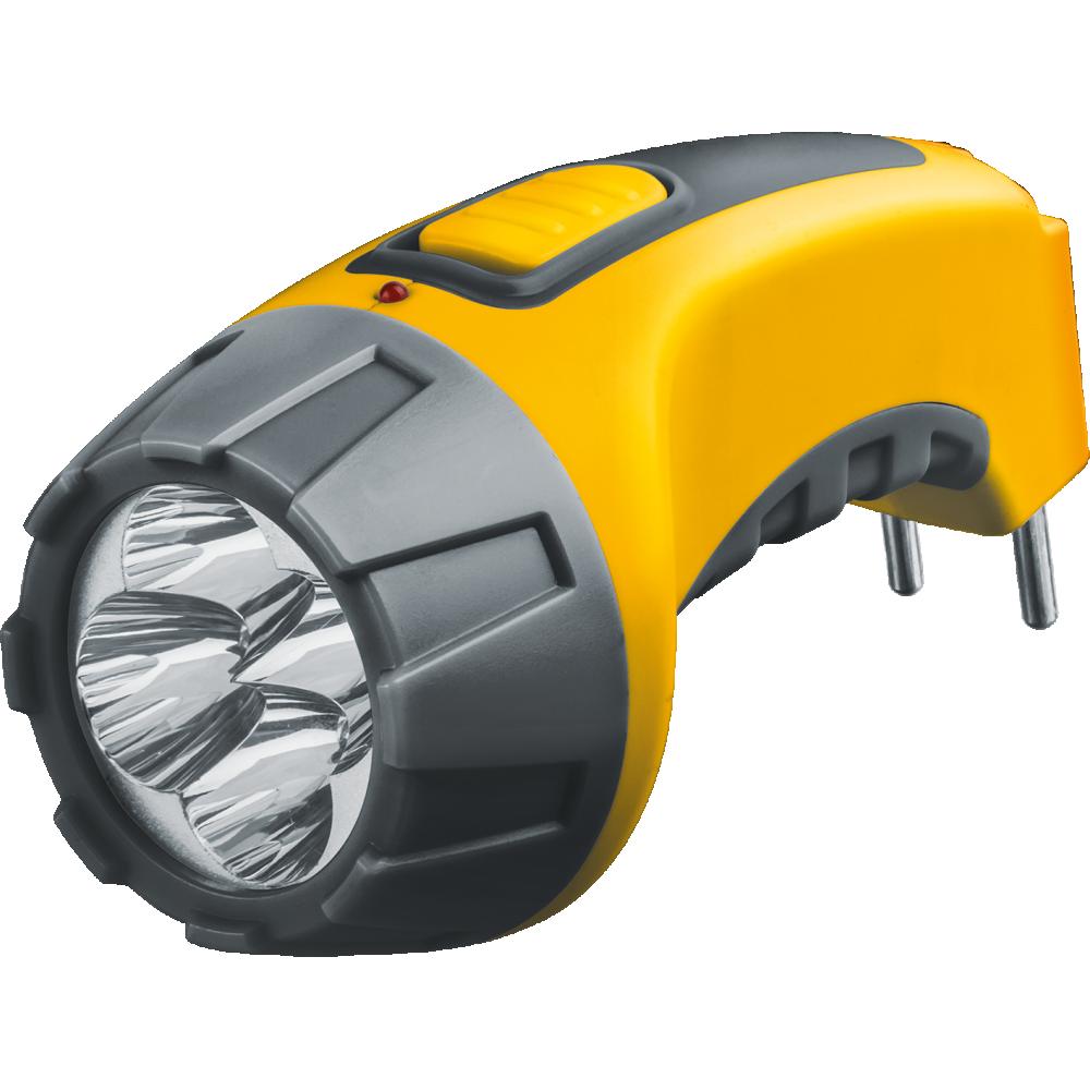 Фонарь ручной Navigator NPT-CP03-ACCU 4 LED, желтый, NPT-CP03-ACCU 94951