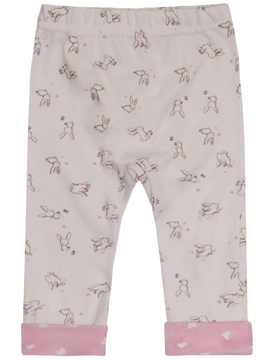 Купить Брюки КотМарКот Нежный зайка 5010123 р.74, Шорты и брюки для новорожденных