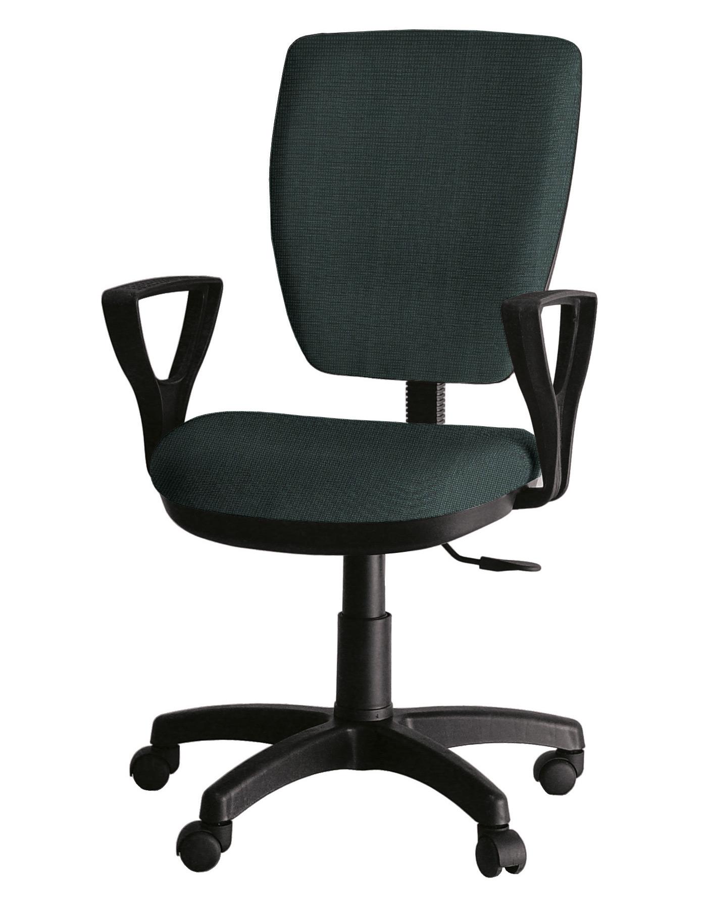 Компьютерное кресло Фактор Ультра, черный/зеленый
