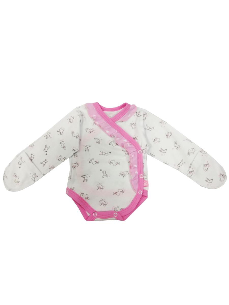 Купить Боди КотМарКот Нежный зайка 9010123 р.56, Боди для новорожденных