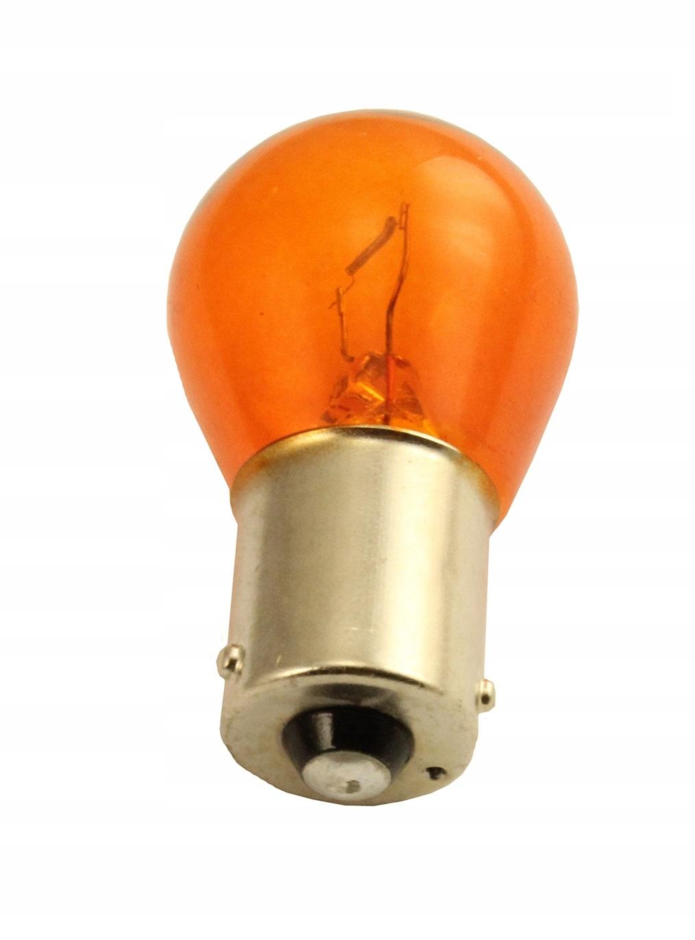 Лампа 12v Py21w 21w Bau15s Teslaft