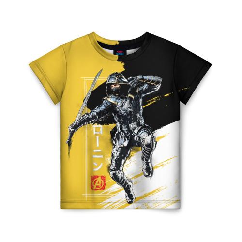 Детская футболка ВсеМайки 3D Ronin, размер 110 VseMayki.ru