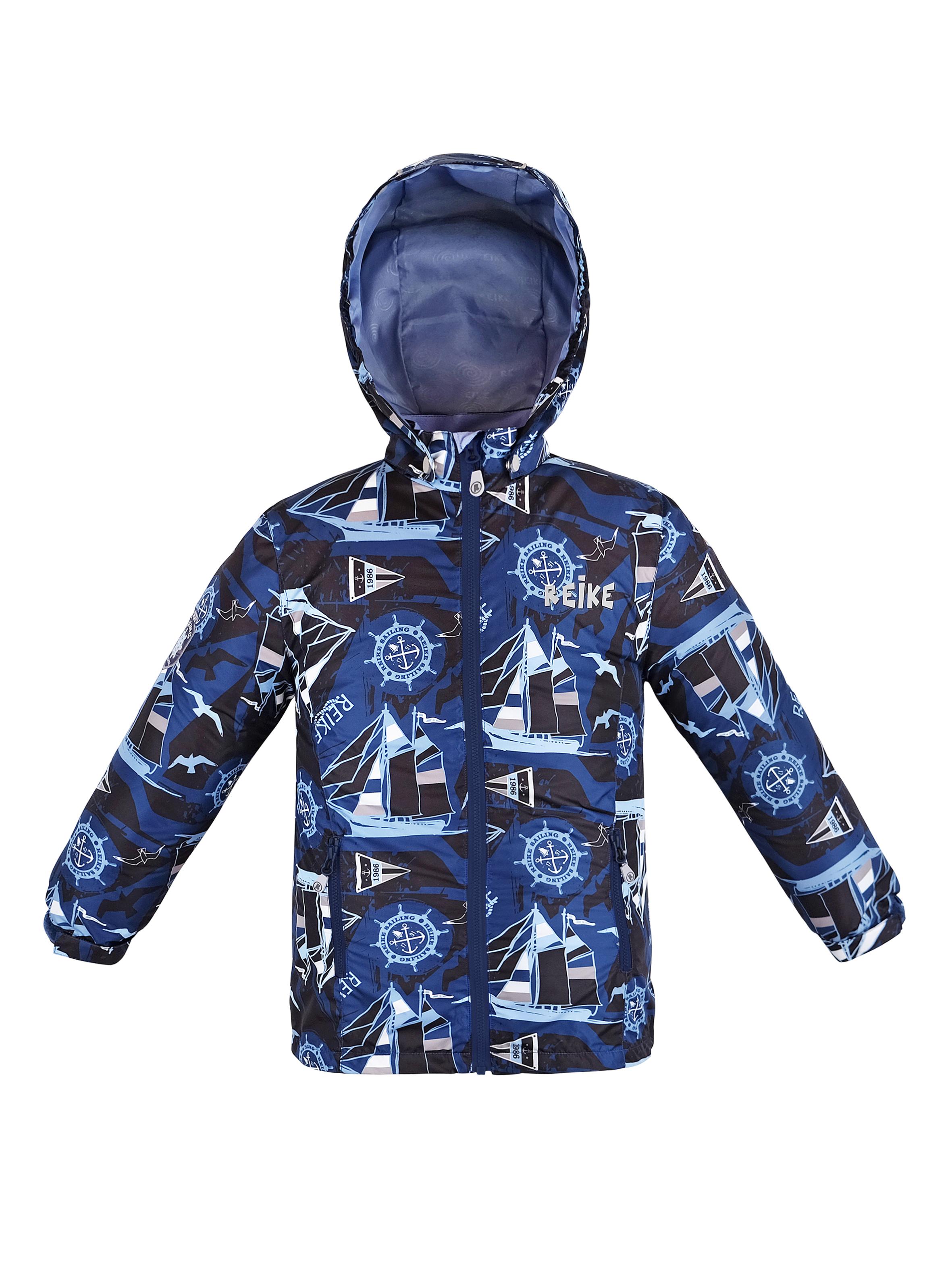 Куртка для мальчика Reike Sailing navy р.146