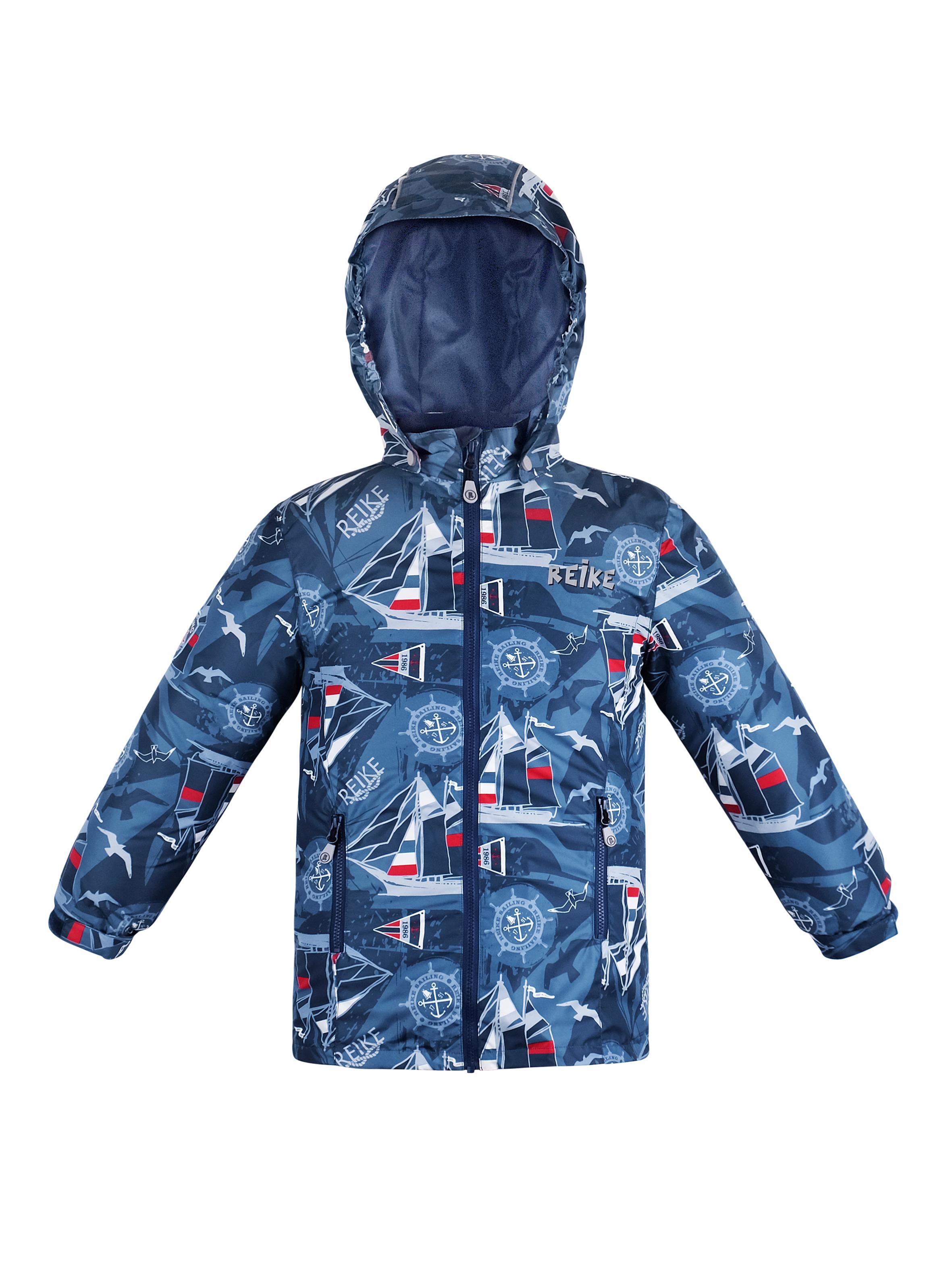 Куртка для мальчика Reike Sailing blue р.152