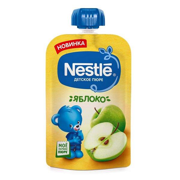 Пюре фруктовое Nestle яблоко 90 гр