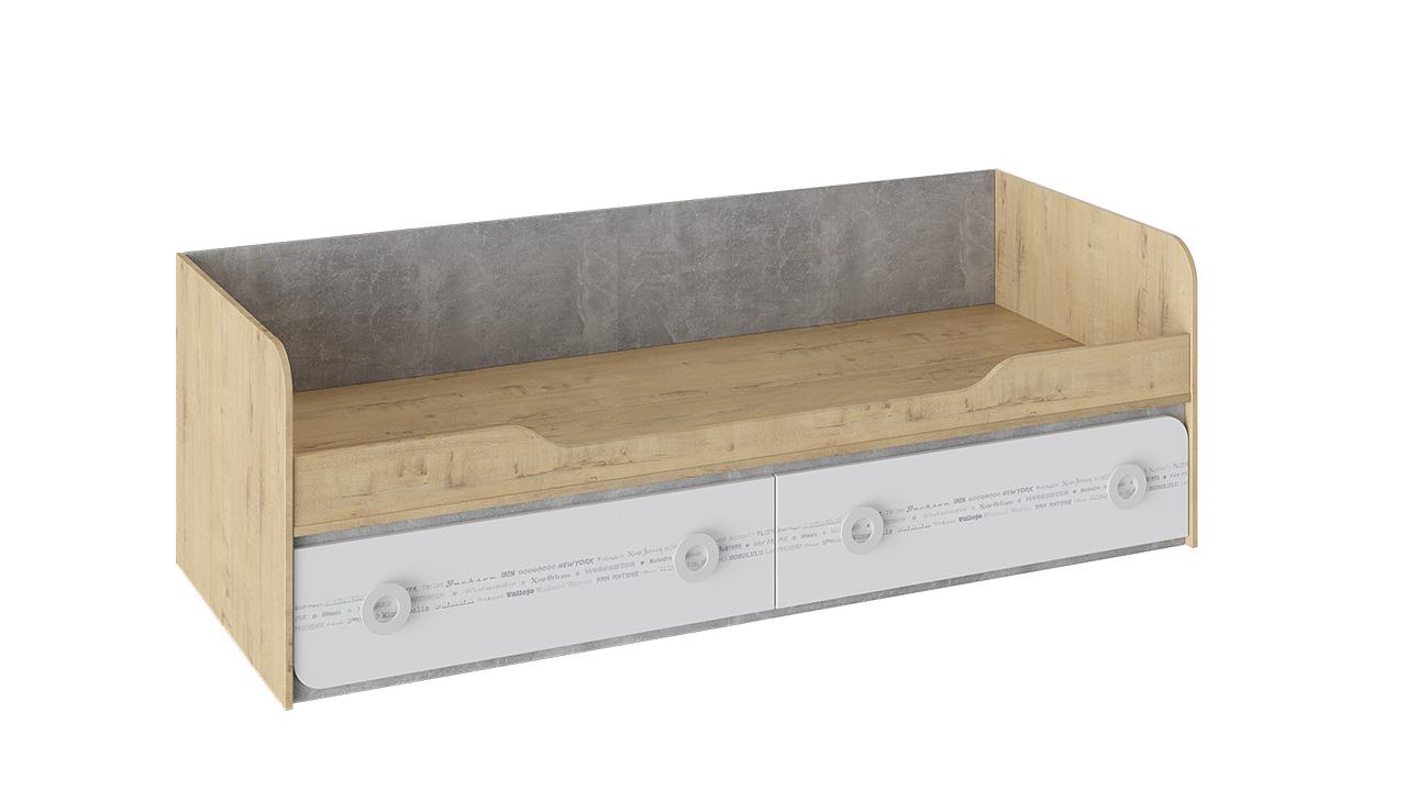 Кровать с 2 ящиками Трия «Мегаполис»