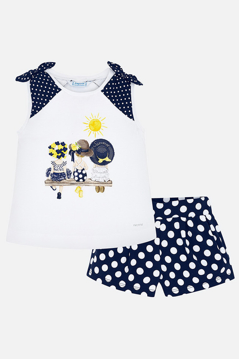 Комплект шорты, футболка Mayoral 3292 цв.синий р.128 3292._синий