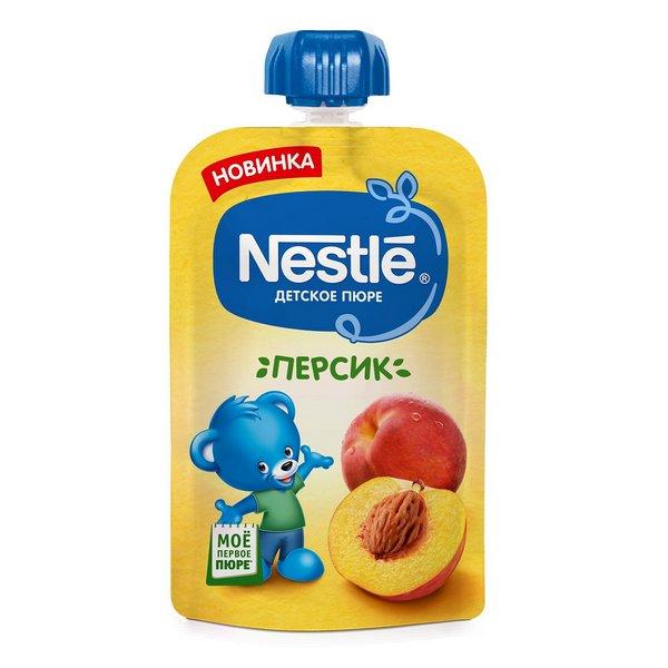 Пюре фруктовое Nestle персик 90 гр