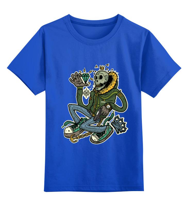 Детская футболка Printio Ganksta mafia цв.синий р.164 0000000731420 по цене 990