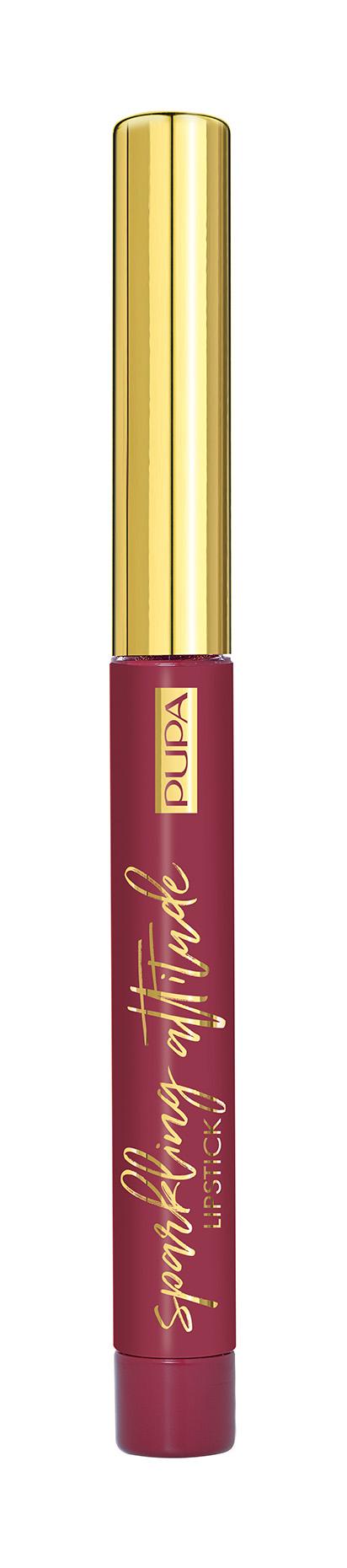 Купить Помада PUPA Sparkling Attitude Matt Effect Lipstick