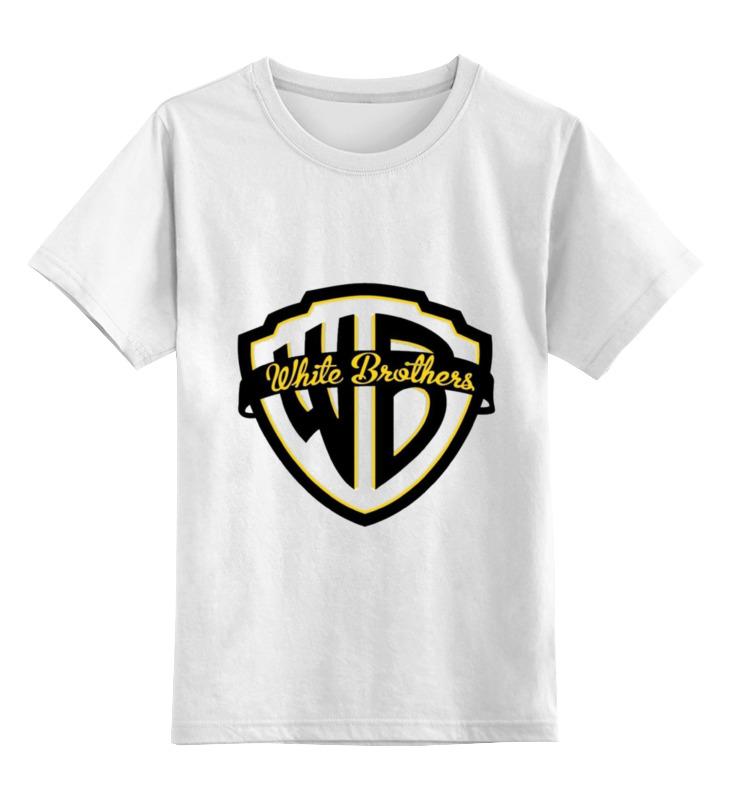 Купить 0000000740268, Детская футболка Printio C/л/г/э цв.белый р.116,