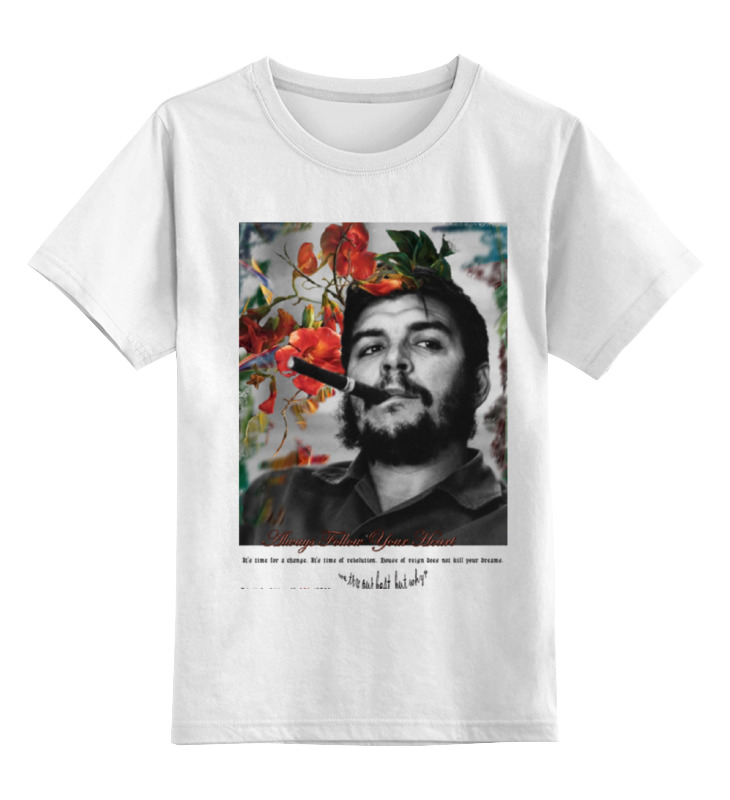 Детская футболка Printio Че гевара цв.белый р.116 0000000740064 по цене 790