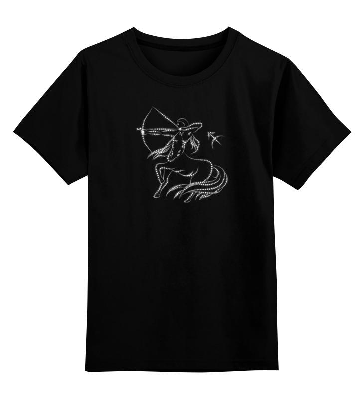 Детская футболка Printio Стрелец цв.черный р.116 0000000739828 по цене 990
