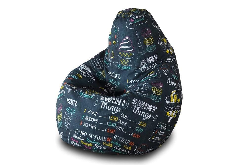 Кресло-мешок Pazitif Груша БМО5_айскрим