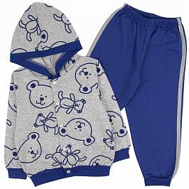 Спортивный костюм Юлла 352ФД цв.синий р.110