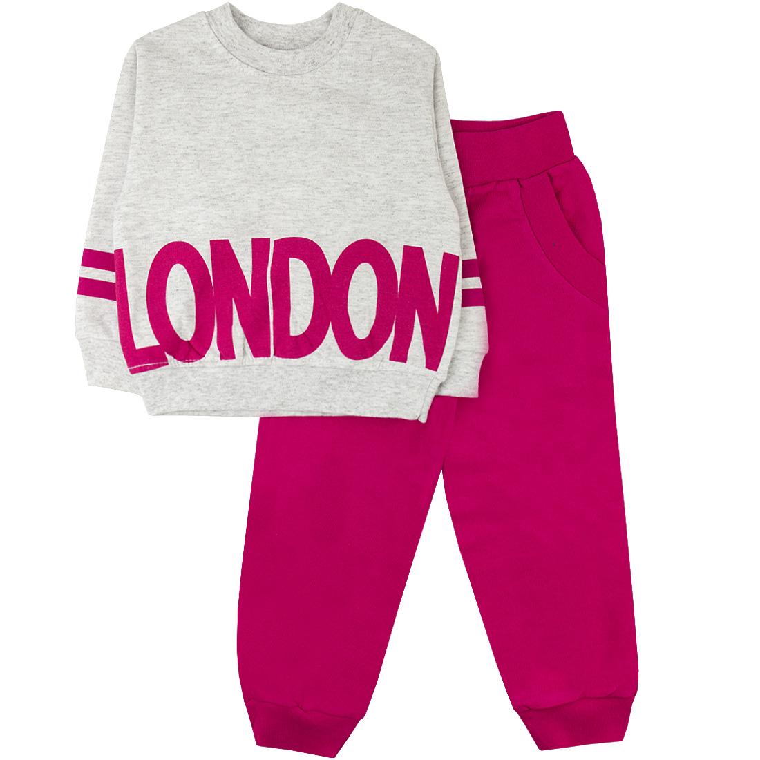 Спортивный костюм для девочек Юлла 488ф цв. розовый р.104