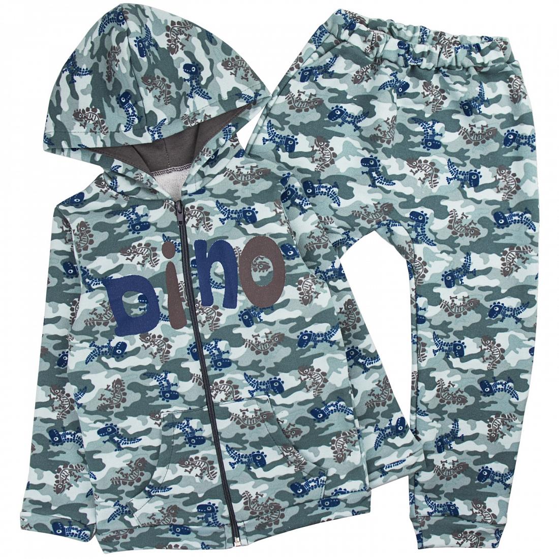 Спортивный костюм для девочек Юлла 819/820ф ап цв. зеленый  р.104