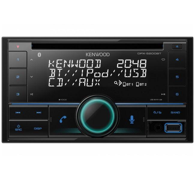 Автомагнитола Kenwood DPX 5200BT