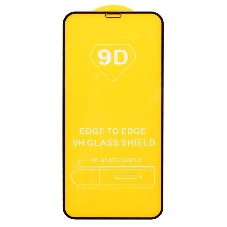 Защитное стекло Wewo для iPhone 11 Pro/XS/X Full Glue с рамкой 2.5D черное