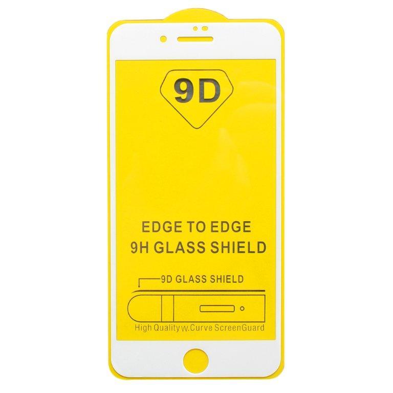 Защитное стекло Wewo для iPhone 7 Full Glue с рамкой 2.5D белое