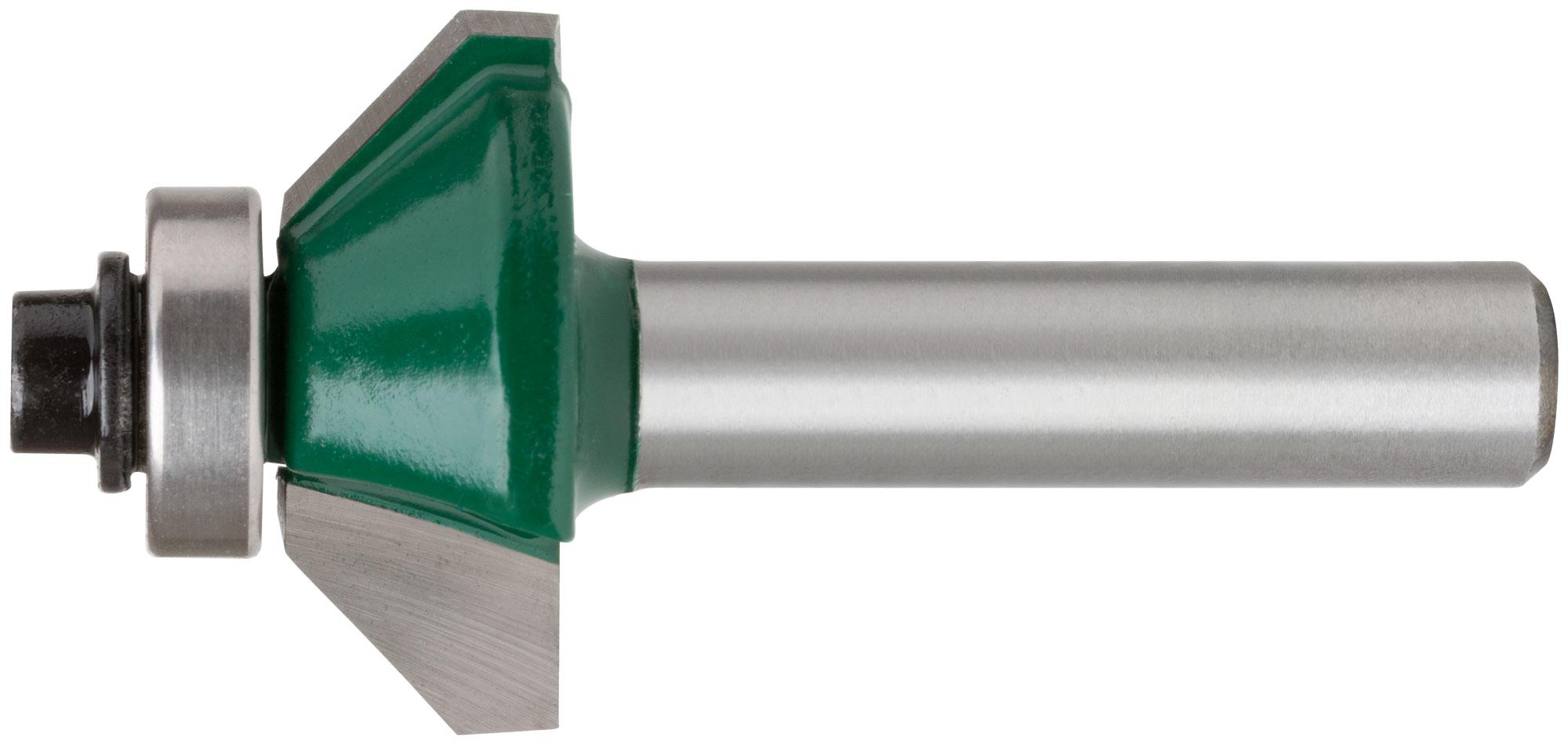 Фреза кромочная конусная с подшипником 25х10х54,3мм
