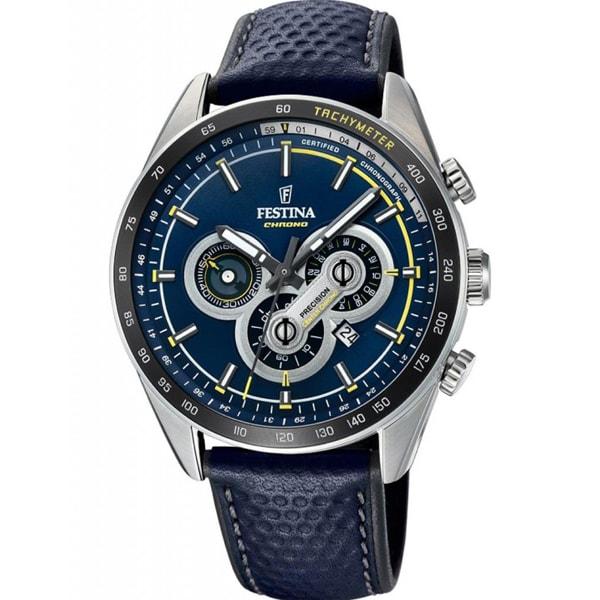 Наручные часы кварцевые мужские Festina F20202 синие