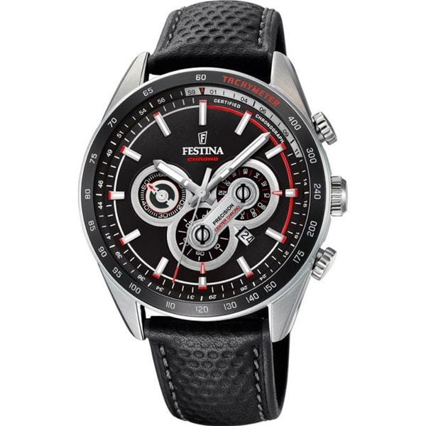 Наручные часы кварцевые мужские Festina F20202 черные