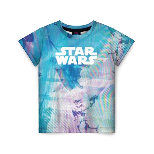 Купить 3D STAR WARS - 1713603, Детская футболка ВсеМайки 3D STAR WARS, размер 128, VseMayki.ru,
