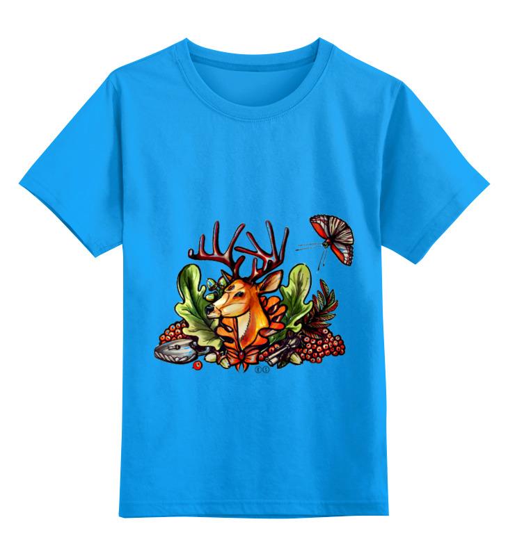 Детская футболка Printio Ряибна т цв.голубой р.116 0000000732770 по цене 856