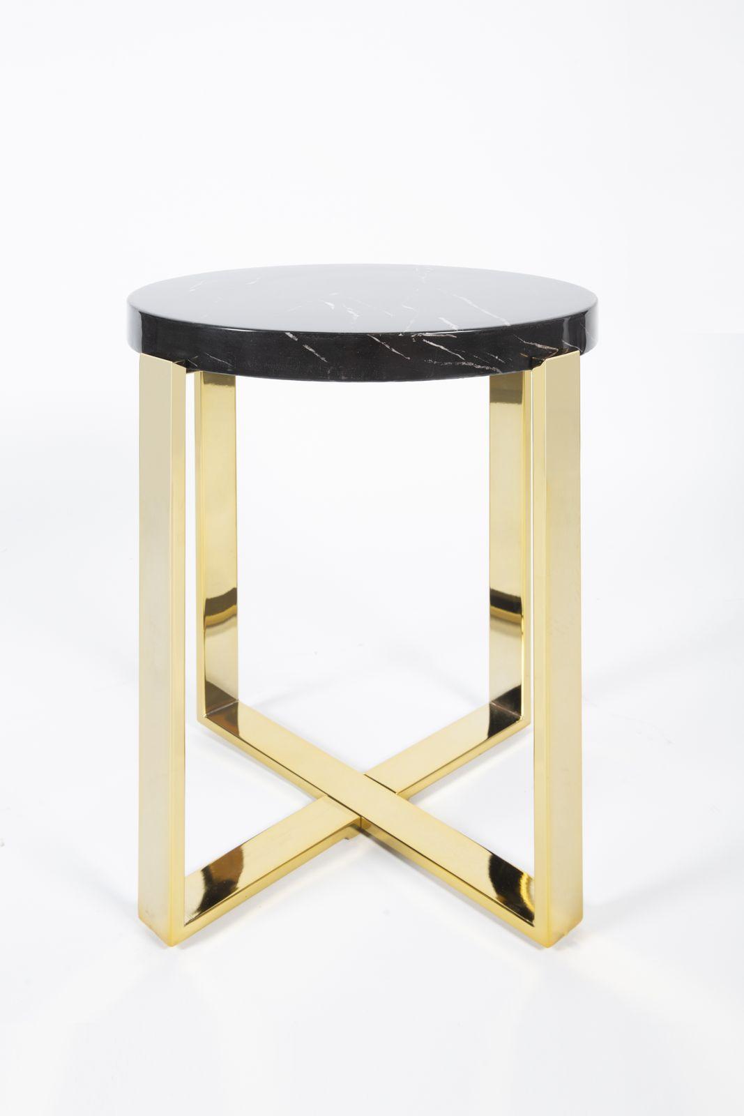 Приставной столик Paulette 0.63x0.48x0.48м