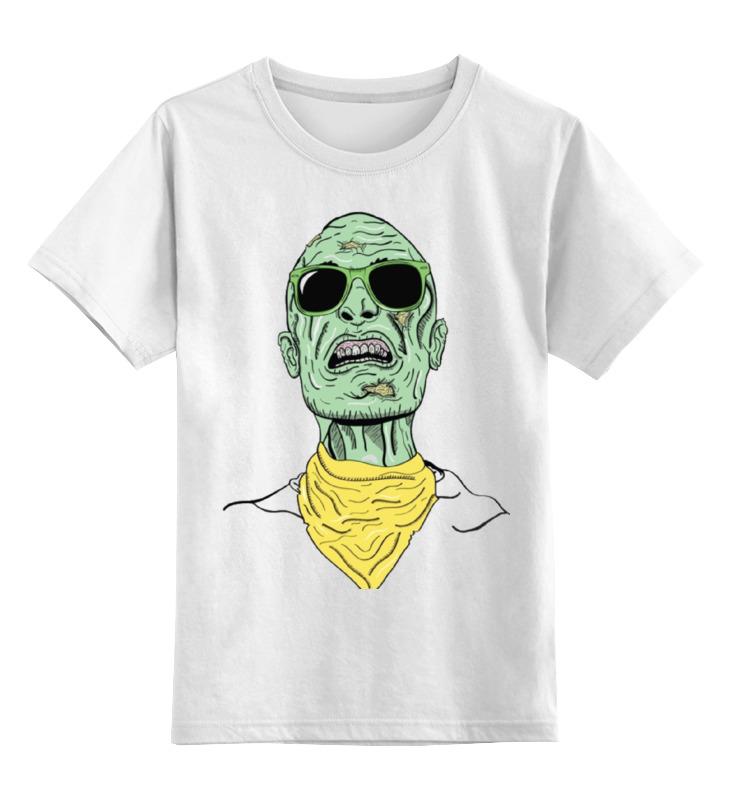 Детская футболка Printio Психоделика цв.белый р.128 0000000737316 по цене 790