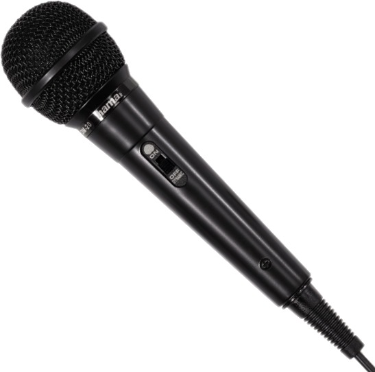 Микрофон Hama H-46020 Black