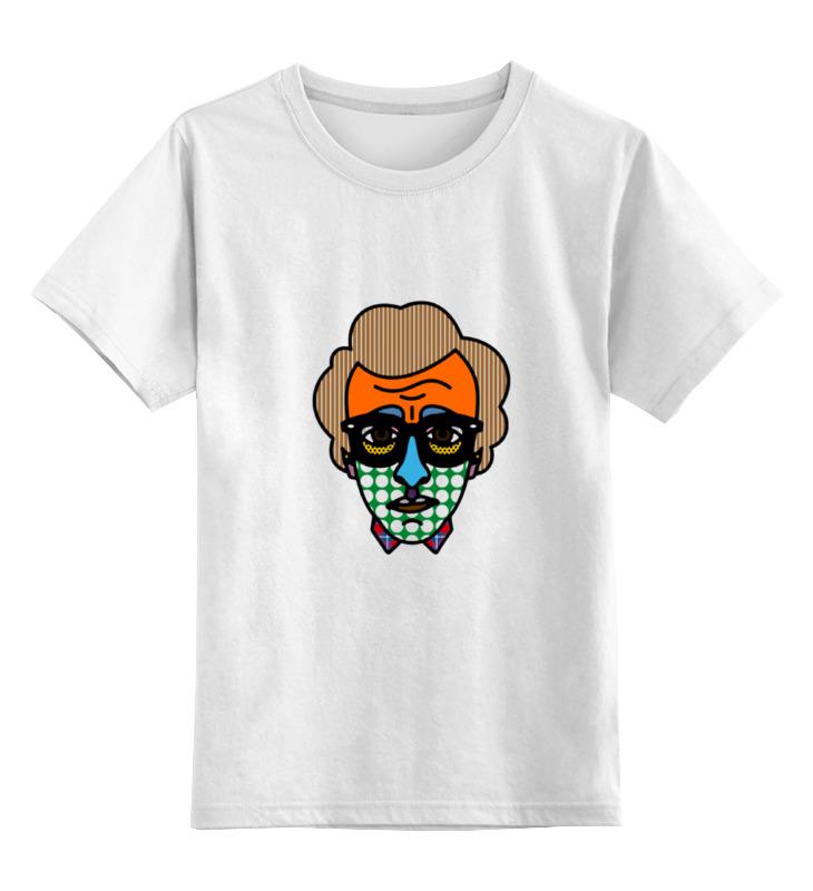 Детская футболка Printio Woody allen bag цв.белый р.128 0000000731262 по цене 790