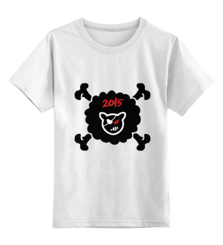 Купить 0000000730541, Детская футболка Printio Be different цв.белый р.128,