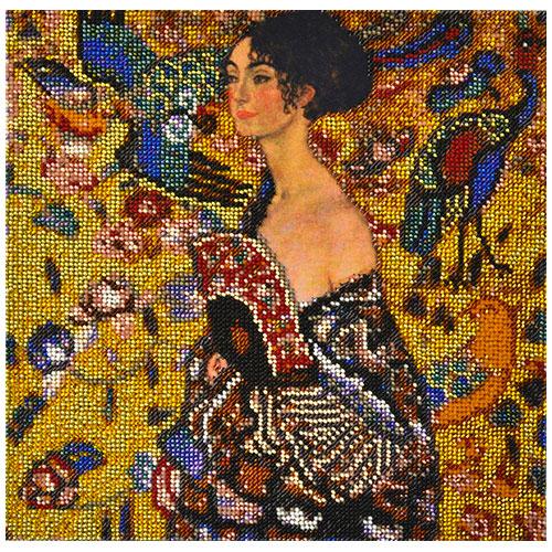 Набор для вышивания бисером Созвездие По мотивам картины Г. Климта \