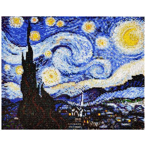 Набор для вышивания бисером Созвездие По мотивам картины В.Ван Гога \