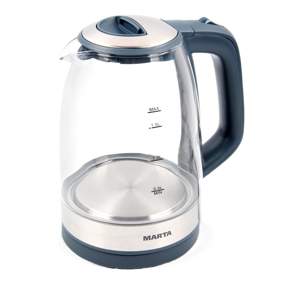 Чайник электрический Marta MT 1078 Grey/White