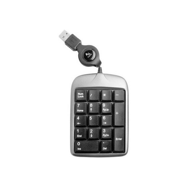 Клавиатура A4Tech TK-5 Silver/Black