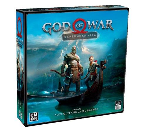 Купить Настольная игра Lavka Games God of war, на русском,