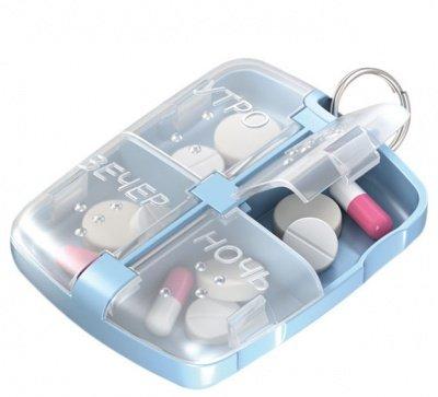 Пенал мини таблетница Кронт для лекарственных препаратов
